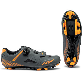 Northwave Origin Plus kengät Miehet, anthracite/orange